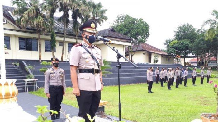 Tingkatkan Citra Positif Polri di Masyarakat, Wakapolres Way Kanan Ajak Personel Berkontribusi