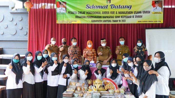 Pemkab Gelar Pelatihan SDM UMKM di Jepara Lampung Timur