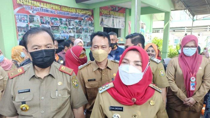 Wali Kota Bandar Lampung Eva Dwiana Sebut Vaksinasi Jemput Bola Efektif