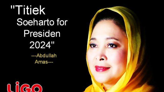 Setelah Ahok, Kini Nama Titiek Soeharto Digadang-gadang Bakal Jadi Capres 2024