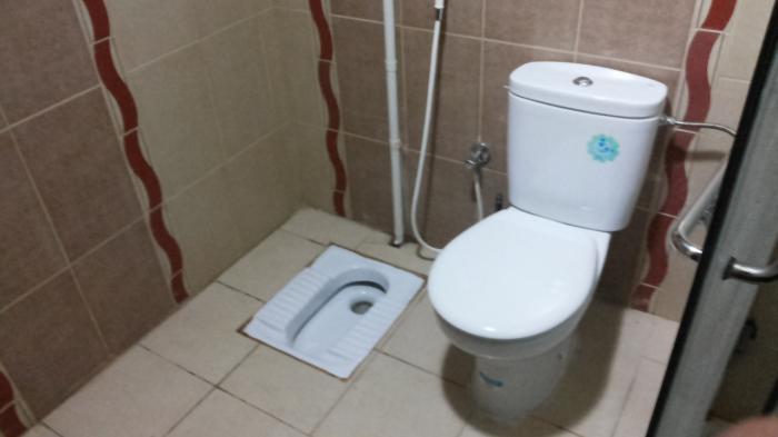 Dua Toilet Dipersiapkan untuk Antisipasi Kebiasaan Calhaj