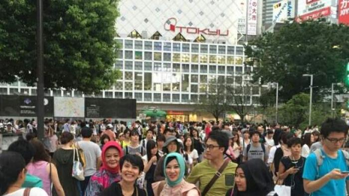 Jalan-jalan JAFRA ke Shibuya, Kartu Kredit Overlimit dalam Hitungan Jam