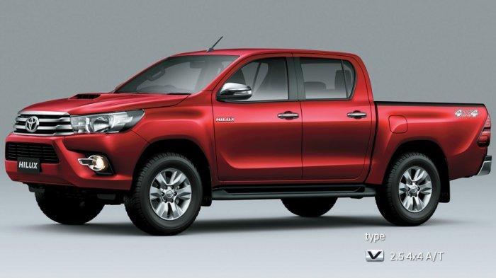 Harga Mobil Bekas Toyota Hilux Double Cabin Termurah Rp 80 Juta Tribun Lampung