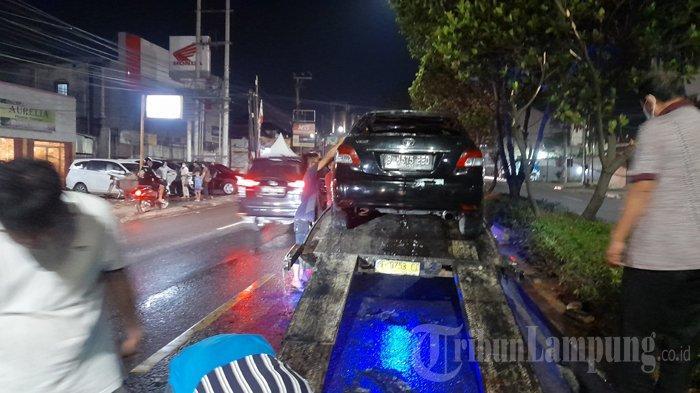 Toyota Vios Terbakar Ludes di Lampung, BPBD Sebut Kerugian Capai Rp 60 Juta