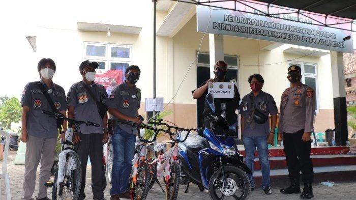 TPI Gelar Vaksinasi Covid-19 Berhadiah Motor di Metro Lampung