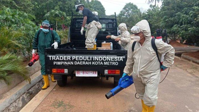 TPI Metro Lampung Buka Call Center untuk Warga yang Butuh Penyemprotan Disinfektan