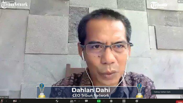 Tribun Lampung Award 2021 Dibuka Secara Resmi oleh CEO Tribun Network Dahlan Dahi