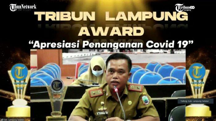 Tribun Lampung Award 2021, Lampung Selatan Raih Kategori Best Citizen Mutual Cooperation