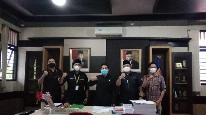 Tribun Lampung Gelar Silaturahmi dengan Ketua DPRD Lampung Barat