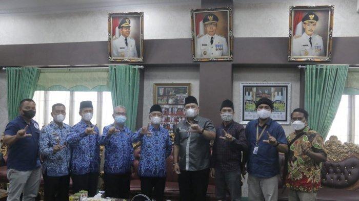 Tribun Lampung Sambangi Pringsewu, Hadi Prayogo: Kami Lakukan Transformasi Digital