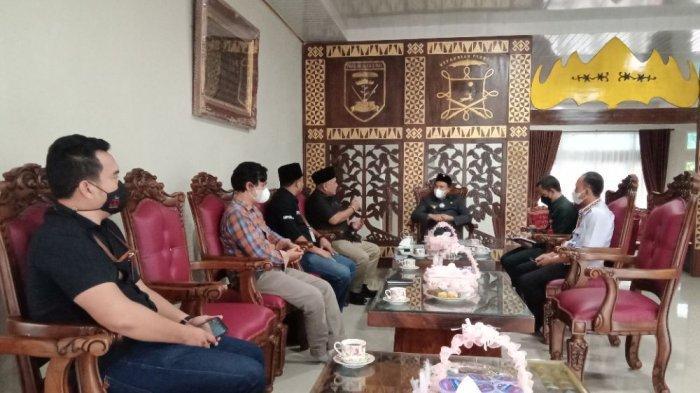 Pererat Kerja Sama, Tribun Lampung Lakukan Kunjungan ke Bupati Lampung Barat