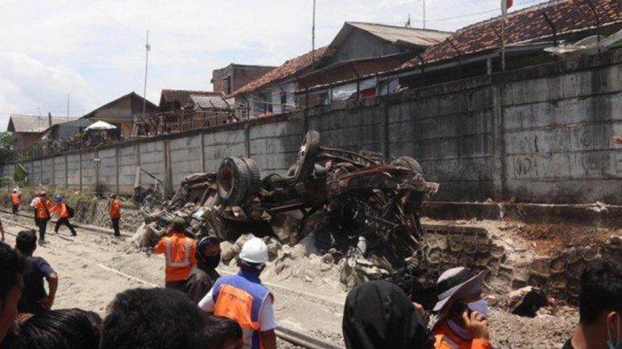 Truk vs Kereta Babaranjang di Bandar Lampung, PT KAI Minta Ganti Rugi