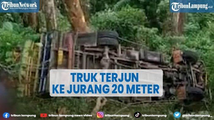 VIDEO Truk Rombongan Pengantar Mas Kawin Terjun ke Jurang 20 Meter