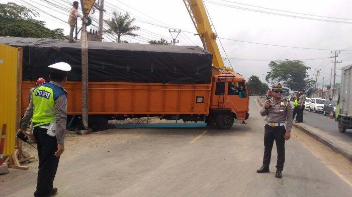 Satlantas Polresta Bandar Lampung Berlakukan Contra Flow Cegah Kemacetan Masuk Kota