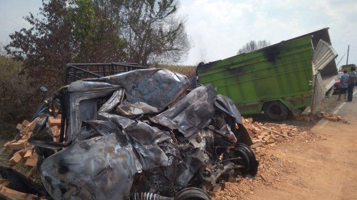 Fakta Baru Kecelakaan Maut di Jalintim Tewaskan 6 Korban, Polisi: Gran Max Lewati Marka Jalan