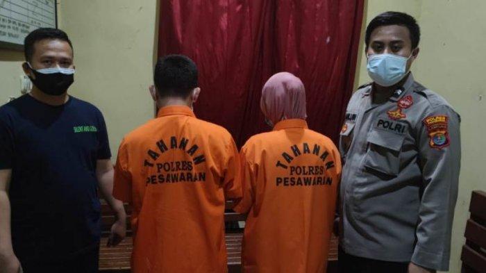 Tersangka Dugaan Korupsi Dana Desa di Pesawaran Lampung Gunakan Nota dan Tanda Terima Palsu