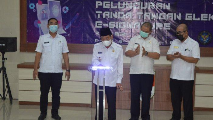 Mesuji Lampung Jadi Pemkab Pertama di Lampung Miliki Aplikasi Tanda Tangan Elektronik