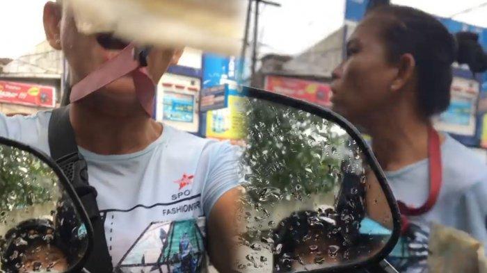 VIDEO VIRAL Tukang Parkir Liar Mengamuk karena Tak Dikasih Duit
