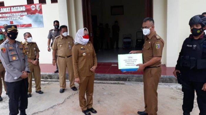 Tulangbawang Terima Distribusi 3.480 Vaksin Covid-19 dari Pemprov Lampung