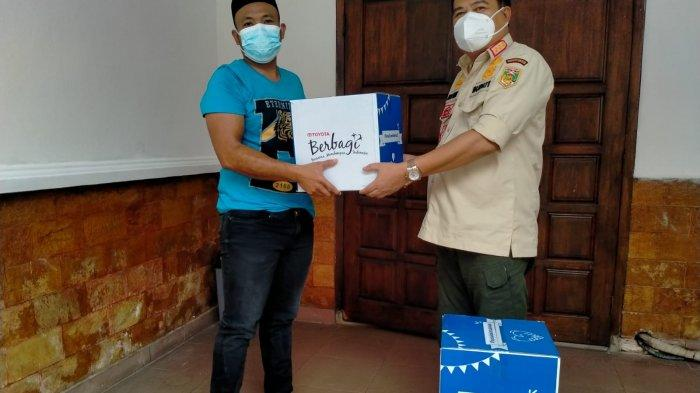 Tunas Toyota Bandar Jaya Lamteng Bagikan CSR sembako, Musa Ahmad: SemogaJadi Contoh