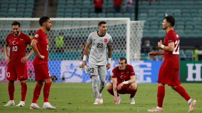 UPDATE Hasil Pertandingan Euro 2020, Turki Jadi Tim Pertama Gagal Lolos Babak 16 Besar