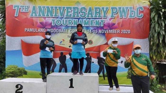 'Dikepung' Atlet Nasional, Lampung Sabet 4 Medali Turnamen Woodball di Pamulang