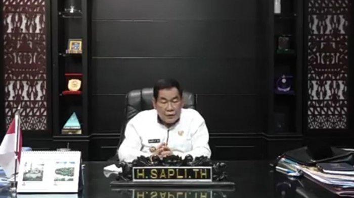 Ucapan HUT Tribun Lampung dari Bupati Mesuji Saply TH