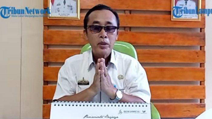 Ucapan HUT Tribun Lampung dari Kepala Dispusar Mesuji Hamdani