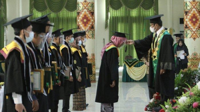 UIN Raden Intan Lampung Kukuhkan 824 Wisudawan Periode III