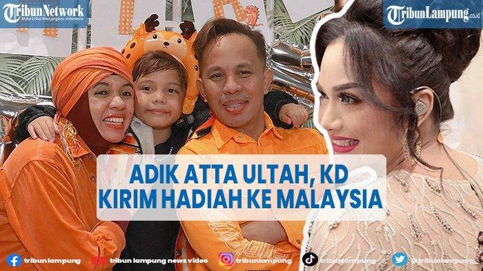 Adik Atta Halilintar Ulang Tahun, Krisdayanti Kirim Hadiah ke Malaysia