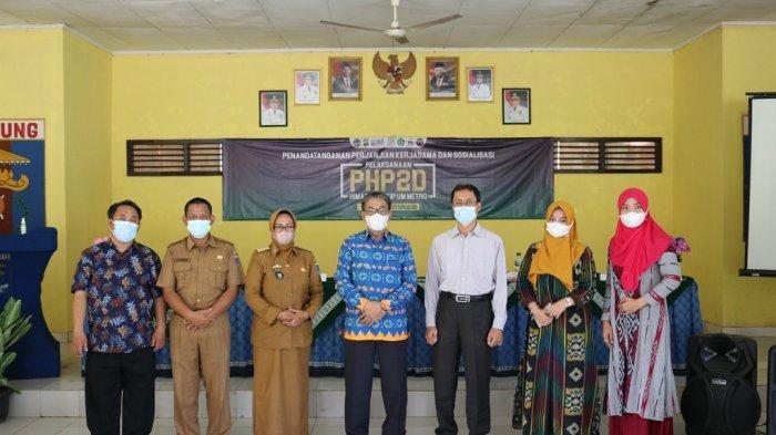 Mahasiswa FKIP Kampus Terbaik Lampung UM Metro Jalin Kerja Sama dengan Kelurahan Rejomulyo