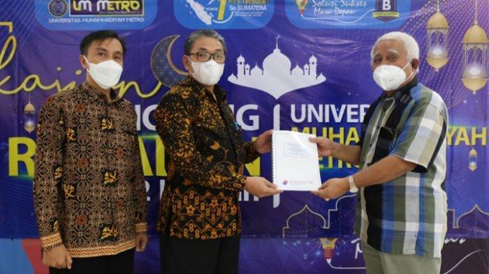 Kampus Terbaik Lampung Univesitas Muhammadiyah Metro Raih Predikat WTP Ketiga Kalinya
