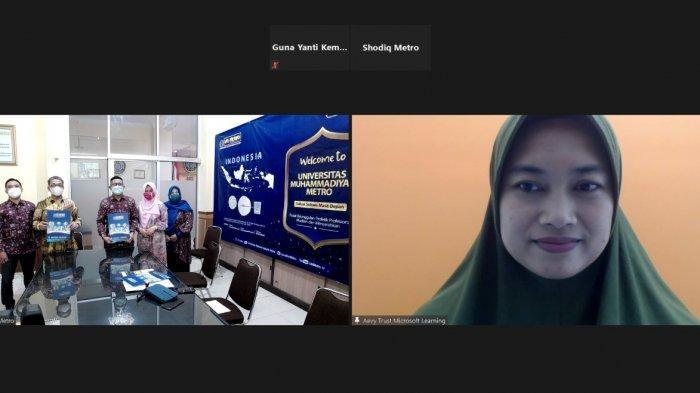 Fasilitasi Gelar Profesi IT bagi Mahasiswa, UM Metro Gandeng Microsoft