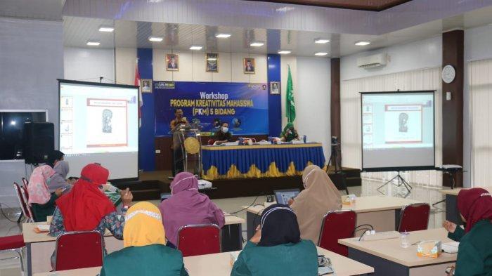 Universitas Muhammadiyah Metro Gelar Workshop Program Kreativitas Mahasiswa (PKM) 5 Bidang