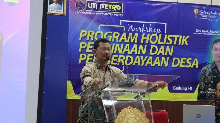 Sambut Program Holistik Bina Desa, UM Metro Gelar Workshop bagi Mahasiswa
