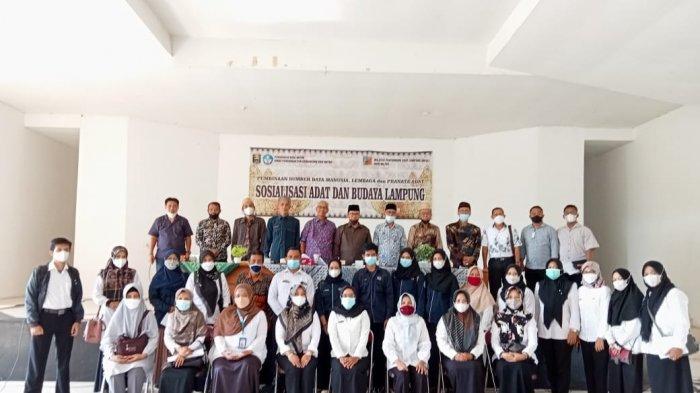 Himas Kampus Terbaik Sumatera UM Metro Hadiri SosialisasiAdat Budaya Lampung