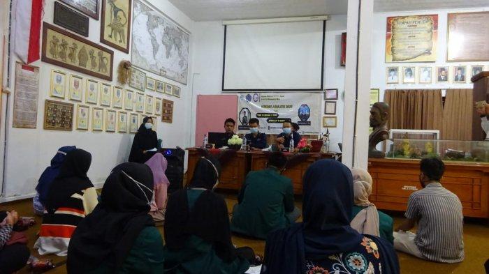 Tingkatkan Kemampuan, Kader Himas UM Metro Adakan Workshop Jurnalistik Dasar