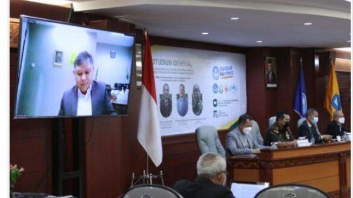 Fakultas Hukum Universitas Lampung Gelar Studium General Orkestra Pemberantasan Korupsi
