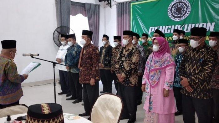 Wakil Rektor IV UM Metro Jabat Dewan Pimpinan Harian MUI Kota Metro