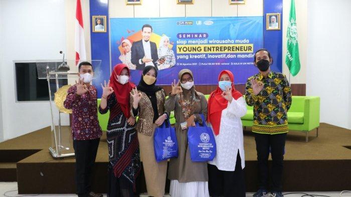 Universitas Muhammadiyah Metro Hadirkan Pengusaha Muda pada Seminar Kewirausahaan