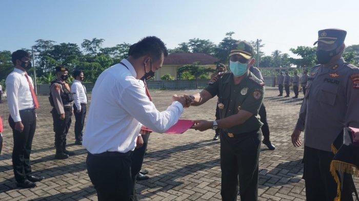 Ungkap Illegal Logging, 10 Personel Polres Pesawaran Diganjar Penghargaan