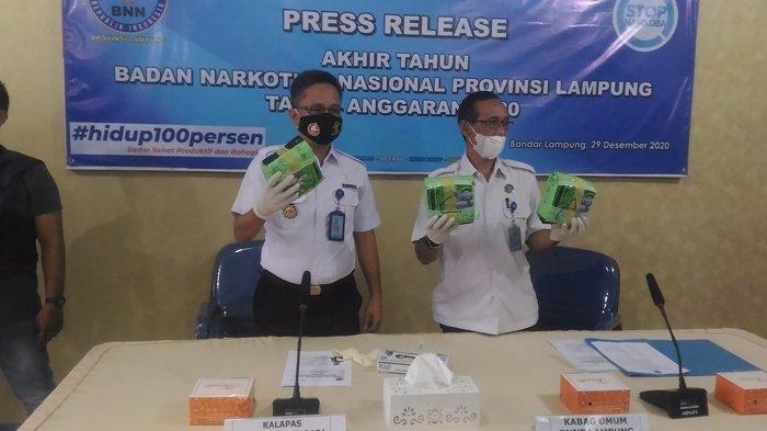 Ungkap Sindikat Peredaran Sabu Jaringan Lapas, BNNP Lampung Amankan 3 Warga Binaan