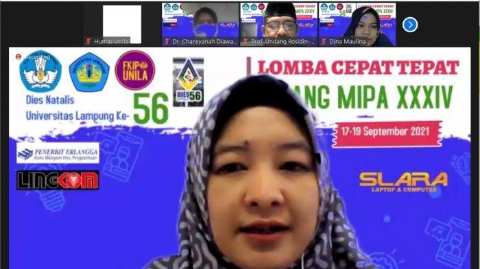 LCT XXXIV Bidang MIPA FKIP Universitas Lampung Semarakkan Dies Natalis Unila ke 56