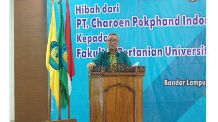Wakil Rektor Unila Peresmian Teaching Farm-Closed House Hibah PT CPI