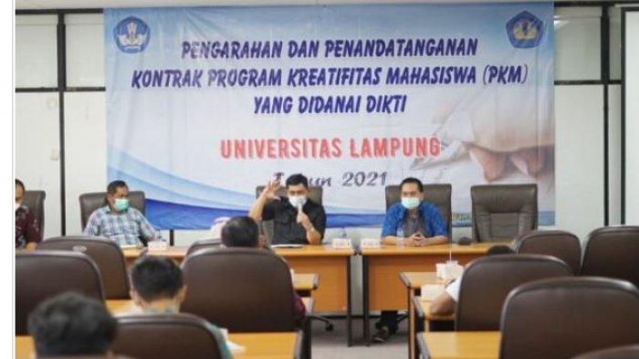 23 Kelompok Mahasiswa Unila Lolos Pendanaan PKM Dikti