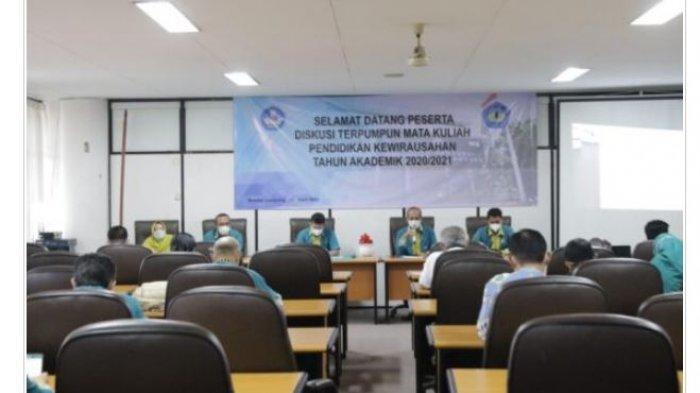 BPMKU Universitas Lampung Gelar FGD Mata Kuliah Kewirausahaan