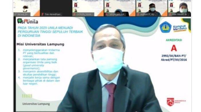 Program Studi Magister Kesehatan Masyarakat FK Unila Lakukan Asesmen Lapangan Secara Daring