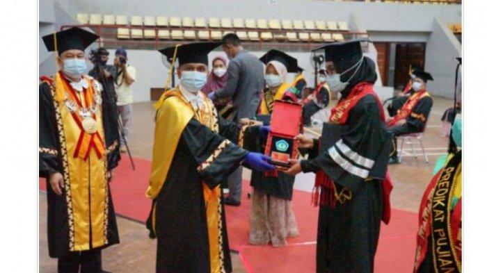 743 Mahasiswa Universitas Lampung Ikuti Wisuda Online Periode III
