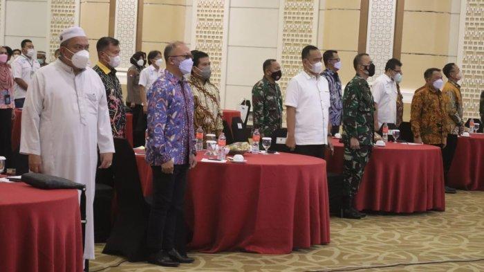 Komandan Kodim 0410/KBL Kolonel Inf Romas Herlandes Hadiri Musyawarah Ke VII DPP APINDO Lampung