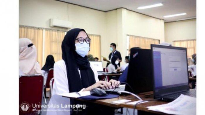 8249 Peserta Ikuti UTBK SBMPTN 2021 Universitas Lampung